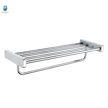 Bathroom Accessory 201 Stainless Steel Towel Rack Hanging Shelf