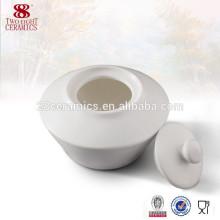 Louça de mesa de Dubai Pequena porcelana Açucareiro com colher