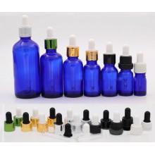Botella de vidrio de aceite esencial redondo (NBG03)
