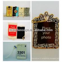 Conceptions modernes d'étiquettes de sac