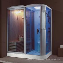 Quarto de banho de vapor Rectangle e combinação de sala de sauna