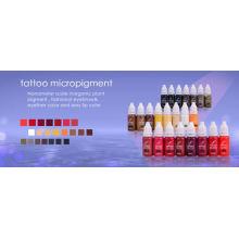 Pigmentos de tatuagem permanente de tatuagem de Inglaterra.KIAY