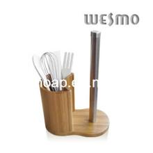 Ensemble d'outils de cuisine pour accessoires en bambou