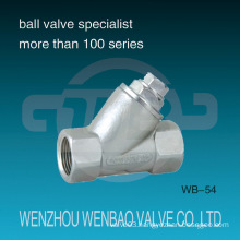 Female Threaded Cast Stainless Steel Y-Type Strainer