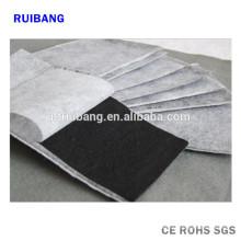 tissu de filtre à air de charbon actif