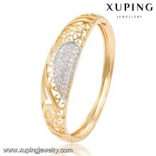 51484 Mode élégant CZ multicolore imitation alliage bijoux en cuivre bracelet pour les femmes