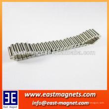 Pulseras magnéticas imanes de neodimio / Imán de barra de neodimio Dia4x10mm imán de joyería pulsera magnética