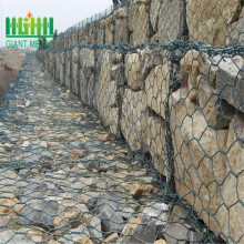 PVC coating Woven gabion box