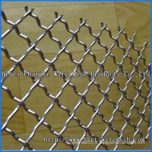 Grille métallique à sertir à trous carrés de Hebei Changte Factory