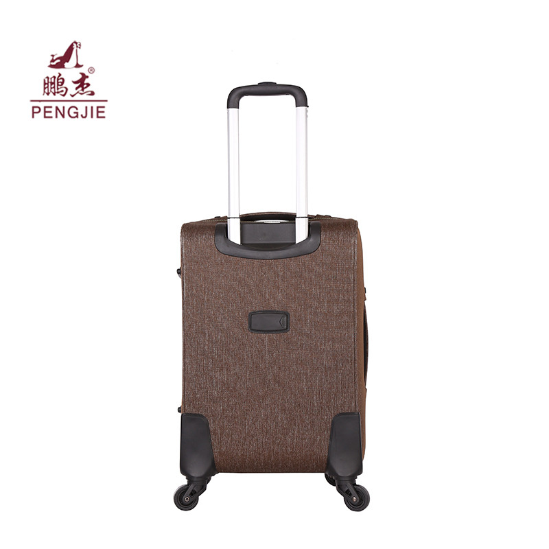 Soft Polyester Rolling Travel Luggage