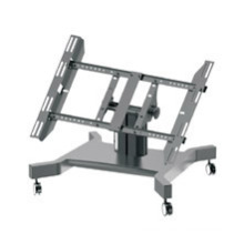 """Public TV Floor Stand Wheel Base Stage 30-60"""" (AVA 101F)"""