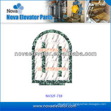 Elevator Cabin Decoration, Observation Elevator Floor, Lift Car PVC Floor