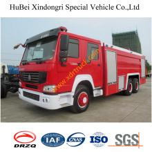 6ton Steyrking сухого порошка пожарная машина Евро3