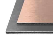 Brushed Aluminium Composite Sheet