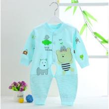 Roupa do bebê do macaco do bebê do algodão