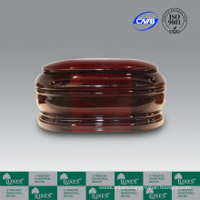 LUXES Cremation Solid Mahogany Wooden Urns For Ashes