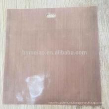 Bolsa de tela de fibra de vidrio recubierta de PTFE de Teflon para hornear pan