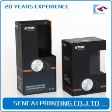 Caja de plástico de precio competitivo para la caja de embalaje de auriculares de la caja de la electrónica