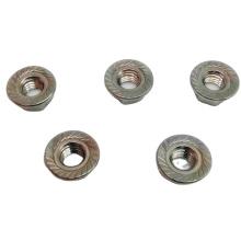 Écrou hexagonal de bride en acier inoxydable 304 Din6923