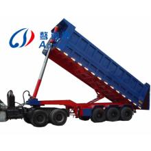3 Axles Cargo Transport Rear Dumping Semi Trailer