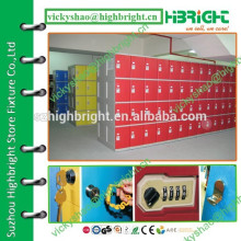 plastic ABS safe gym parcel locker