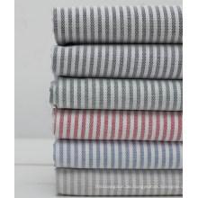 100 % Baumwolle Streifen Garn gefärbt Oxford-Hemd-Gewebe