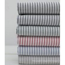 100% Cotton Stripes Yarn Dyed Oxford Shirt Fabric