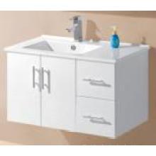 Белый глянец MDF настенный ванной тщеславия (UV8027-900W)