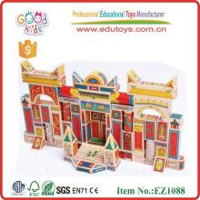 2013 Juguetes de madera del bloque, maravillas chinas