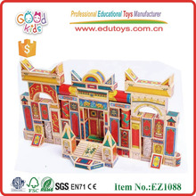 2013 Wooden Block Toys,Chinese Wonders