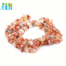 Wholesale Natural African Red Agate Semi Beads Stone Chip For Jewelry
