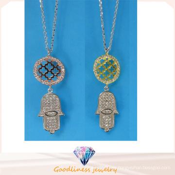 Alta calidad y venta caliente collar de joyería de plata esterlina de joyería de moda N6778