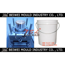 Injection Plastic Paint Pail Mould Maker