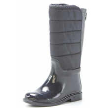 Rubber Rain Boots With Zip And Ski Cloth