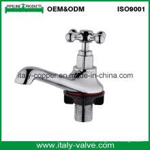 OEM y ODM Calidad cromado pulido tapa del grifo del lavabo (AV2076)