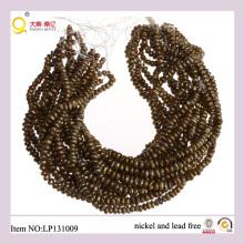 7-8mm Gold wiedergeboren Süßwasserperle verlieren Perlen Stränge