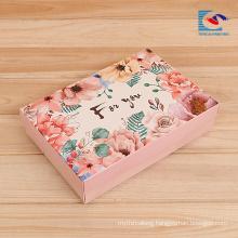cheap rigid cardboard photo album display paper gift boxes