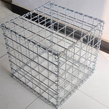 Malha do gabion soldado de 5mm 1 * 1 * 1m