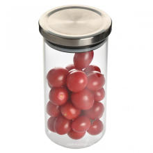 Metal lid circle airless food jar