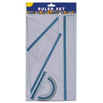 Régua plástica de 30cm de papelaria