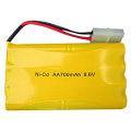 1.2V 400mah AA Ni-Cd rechargeable battery pack 4.8V AA 600