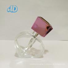 Ad-P46 Bouteille en verre de parfum de forme spéciale Spray 25ml