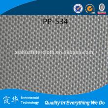 PP tecido pano filtro para filtros de saco