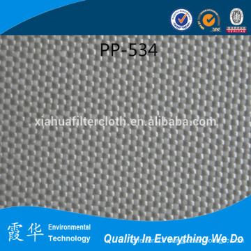 PP fabric filter cloth for bag filters