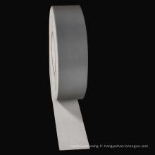 Chengwei personnalisé argent laser réfléchissant transfert de chaleur vinyle matériel PET bande pour vêtements
