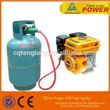 China melhor 7hp multi-fuction super poder querosene GLP motor a gasolina para venda