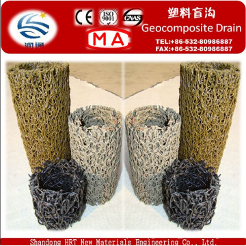 Round Geocomposite Drain for Landfills