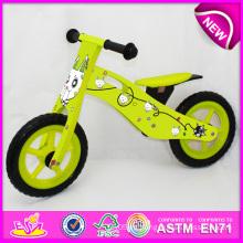 Juguete de madera 2014 de la nueva bicicleta para los niños, juguete de madera lindo de la bici para los niños, bicicleta de madera del juguete del último diseño para la fábrica W16c078 del bebé