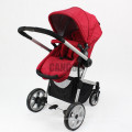 Four wheels Foldable Alluminum alloy Stroller Baby 3-in-1 Pushchair Europe baby stroller