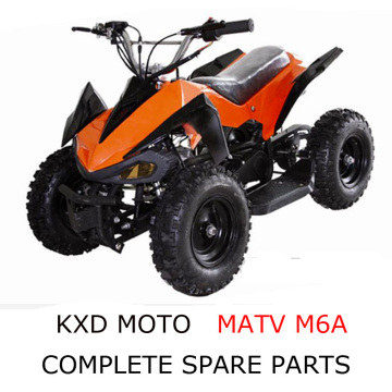 KXD Motor ATV M6A Parts Complete Scooter Parts